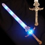 Blue LED Skull Sword
