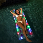 Deluxe Illuminated Pool Raft