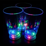 Flashing 16oz. Tumbler Pint Glass