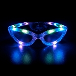 Flashing Sunglasses - Multicolor