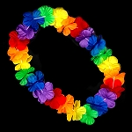 Flashing LED Hawaiian Lei: RGB