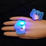 Flashing Jelly Elephant Ring