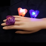 Flashing Jelly Butterfly Ring