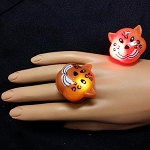 Flashing Jelly Leopard Ring