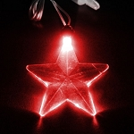 LED Pendant- Red Star