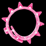 Flashing Spike Bracelet - Pink