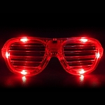 Red LED Shutter Glasses