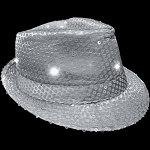 Flashing Fedora- Silver