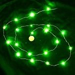 Waterproof LED String LED Light - Green