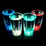 8 Sided Liquid Activated 2 oz Shot Glass