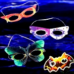 Glow Masks - Assorted (8-Pack)