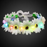 Light Up Flower Halo