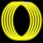 Economy Glow Necklaces: Yellow (50-Pack)