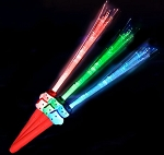LED Fiber Optic Snowman Wand