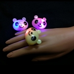 Flashing Jelly Panda Ring