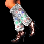 LED Light Up Leg Warmers - Multicolor