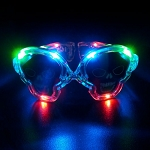 Light-up Skull Sunglasses