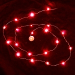 Waterproof LED String LED Light - Red