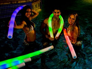 Illuminated Deluxe Pool Noodle
