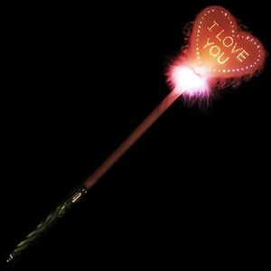 Fiber Optic Heart Wand